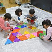 正三角形の色面構成